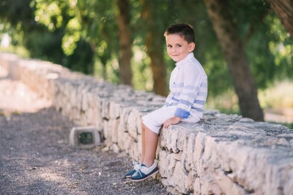 Retrato infantil niño valencia